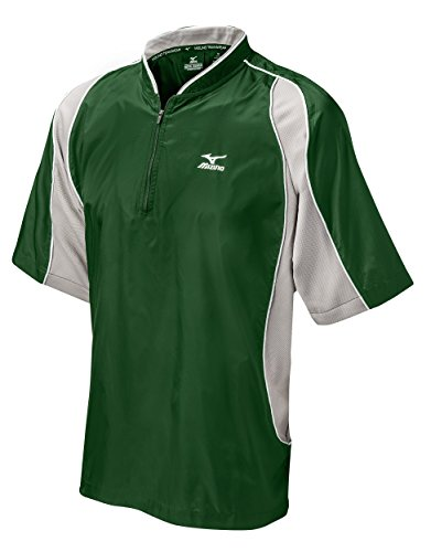 - Mizuno Protect Batting Jersey, Forest, Medium