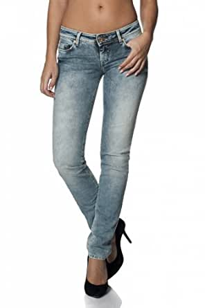 Salsa - Jeans Shape Up con Pierna Slim y déchirures - Mujer ...