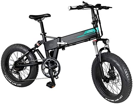 Folding Ebike Fiido M1 Folding Electric Mountain Bike 250w 7 Speed Derailleur 3 Mode Lcd Display 20 Electric Bicycle For Adults And Teens For Sports Outdoor Cycling Travel Led Light 20 Fat Tire