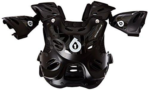 Sixsixone Body Armor (six six one Rage Roost Deflector (Black, Youth))