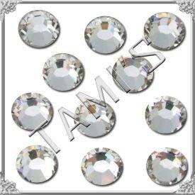 (HOTFIX 30ss Crystal CLEAR 360 SWAROVSKI Flatback Rhinestones Wholesale FULL Pack)