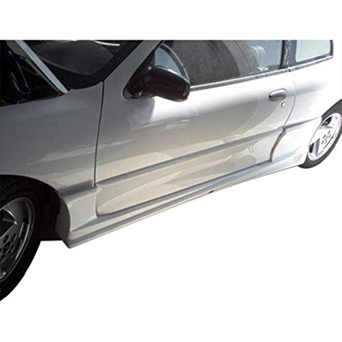 Duraflex Replacement for 2003-2005 Pontiac Sunfire 2DR Bomber Side Skirts Rocker Panels - 2 Piece ()