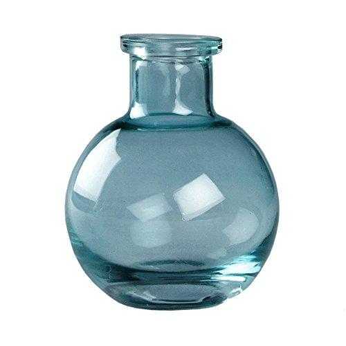 5-Pack Transparent 3.5-Inch Glass Vases, Tornado