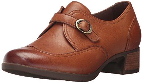 Dansko Women's Livie Slip-on Loafer, Saddle Burnished Nappa, 39 EU/8.5-9 M US by Dansko