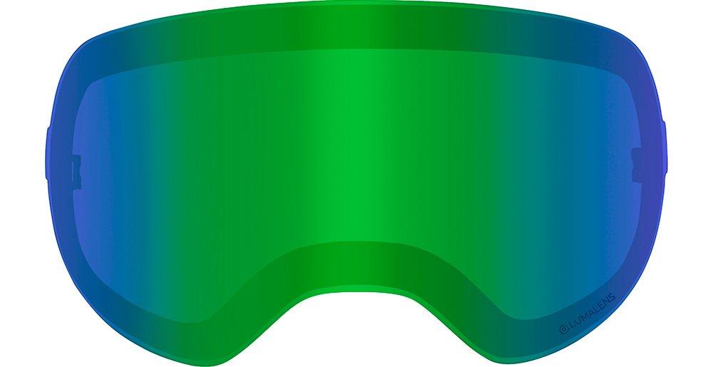 ドラゴンx2s交換用レンズ B076QD5MW9 X2S / Green Ion Luma 25% VLT X2S / Green Ion Luma 25% VLT