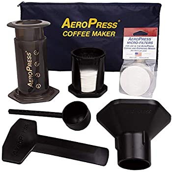 Amazon.com: AeroPress 10R11 Go Travel Coffee Maker, Grey ...