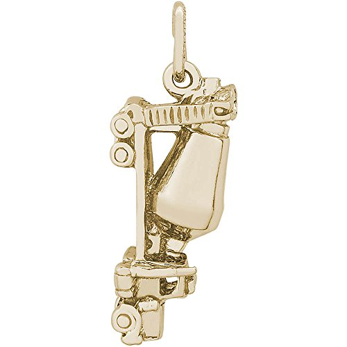 Rembrandt Charms Two-Tone Sterling Silver Cement Truck ()