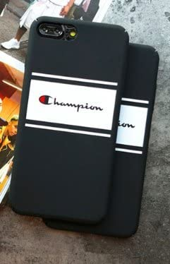 Coque iPhone 7 Plus et iPhone 8 Plus Champion Noir Sportswear ...