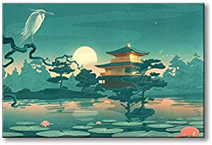 Sweepstakes: Spoonbills Modern Wall Art Fantasy Japanese…