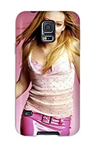 Irene C. Lee's Shop 9776141K19863546 Durable Protector Case Cover With Hilary Duff 2 Hot Design For Galaxy S5