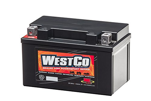 WestCo 12V7A-BS Maintenance-Free Rechargeable Sealed Lead-Acid Battery by MK Battery