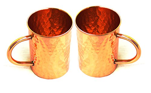 STREET CRAFT Hammered Copper Moscow Mule Mug Handmade