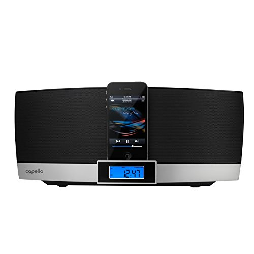 CD Home Stereo with iPhone dock and FM radio