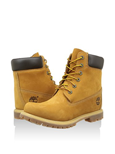 Moutarde Prem Whe Ek Timberland Femme Bottes Wheat Wedg 6in U8EwT