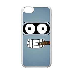Okaycosama Funny IPhone 5C Cases Funny 54 for Women, Cell Phone Case for Iphone 5c, {White}
