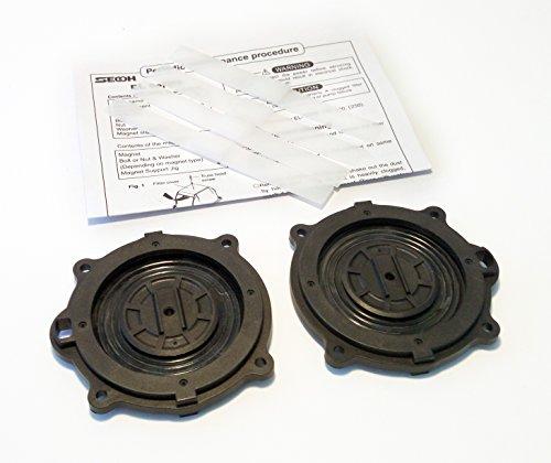 - Secoh EL - Series Air Pump Repair Part Small Kit Diaphragms ONLY DIY for Septic and Pond Aerator