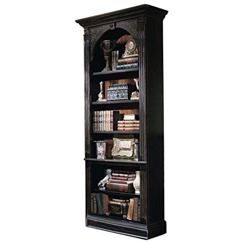 Hooker Furniture 500-50-385 Black Bookcase, Gold Accents from Hooker Furniture