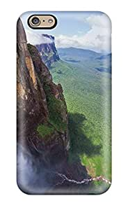 Julian B. Mathis's Shop Lovers Gifts 7839066K66101099 For Iphone 6 Premium Tpu Case Cover Water Falls Background Protective Case