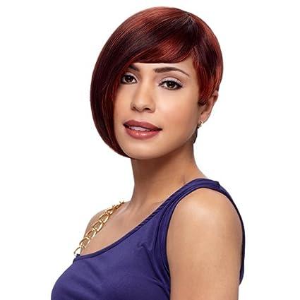 Sensationnel - pelo humano de protección antigolpes peluca para completar disfraz MISSY, de oro y