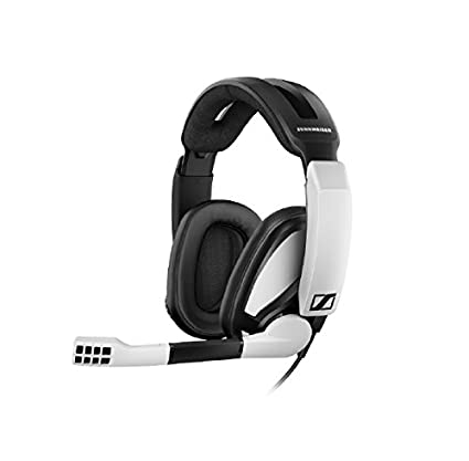 2b008719044 Amazon.com: Sennheiser GSP 301 Closed Back Gaming Headset for PC, Mac, PS4  and Xbox One, black and White: Computers & Accessories