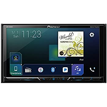 """Pioneer AVH-2300NEX Multimedia DVD Receiver with 7"""" WVGA Display/Apple CarPlay/Android Auto/Built-in Bluetooth/SiriusXM-Ready/AppRadio Mode +"""