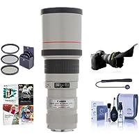 Canon EF 400mm f/5.6L USM Lens, USA BUNDLE + More #2526A004 NK