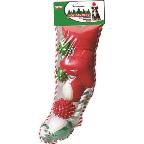 Ethical Christmas 688249 Holiday Dog Stocking Out-Season 0801, Medium