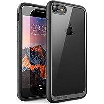 SUPCASE iPhone8 ケース / iPhone7 ケース 背面クリア 耐衝撃 携帯カバー アイフォンケース