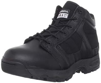 Original S.W.A.T. Men's Metro Air 5 Inch Side Zip Tactical Boot, Black, 4 D US
