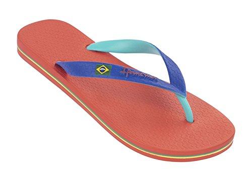 Ipanema Damen Brazil Bicolor Zehentrenner Red/Green/Blue Größe EU 35/36