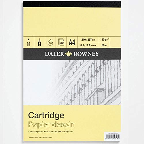 - Daler Rowney A Series Cartridge Pad A4