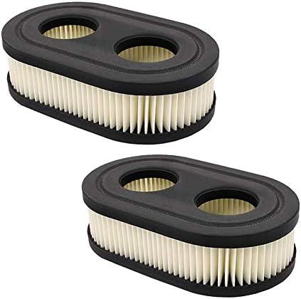 Donpow Luchtfilter voor grasmaaiers Briggs Stratton 798452 K 593260 vervangingspakket 2 433 x 137 inch