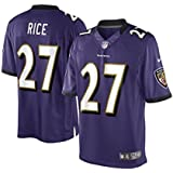 a49752518ed Amazon.com : Outerstuff Ray Rice Baltimore Ravens #27 Youth On Field ...