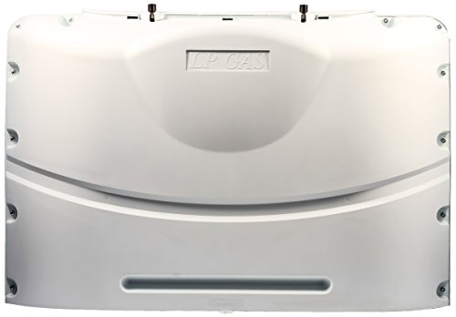 Camco 40573 White Heavy-Duty Double Propane Tank Cover