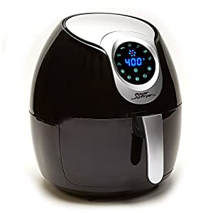 Power Air Fryer XL, 3.4 QT, Black