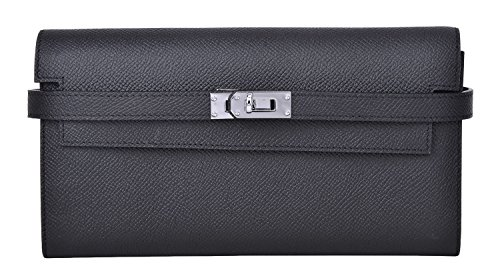 Cherish Kiss Womens wallet Long Clutch Card Holder Purse for Women E7708 black by Cherish Kiss