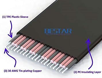 Cable Length: 60cm, Color: R43SL ShineBear M.2 KeyM 2230 2242 2260 2280 to PCI-e 16x Riser Card Cable 1FT 2FT PCI-Express x16 Extender PCIe M Key Gen3.0 32G//BPS