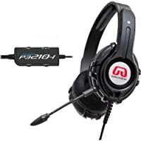 SYBA GamesterGear Cruiser P3210 Headset / Stereo - Black - USB, Mini-phone - Wired - 32 Ohm - 20 Hz - 20 kHz - Over-the-head - Binaural - Circumaural - 12.50 ft Cable / OG-AUD63086 /