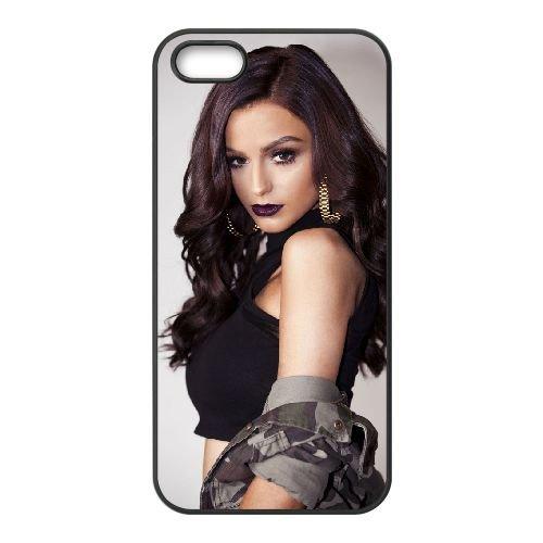 Cher Lloyd 005 coque iPhone 5 5S cellulaire cas coque de téléphone cas téléphone cellulaire noir couvercle EOKXLLNCD22781