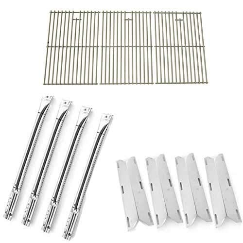Repair Kit for Charmglow 720-0536 BBQ Gas Grill Includes 4 Stainless Burners, 4 Stainless Heat Plates and Stainless Steel Grates by Grill Parts Zone (Image #4)