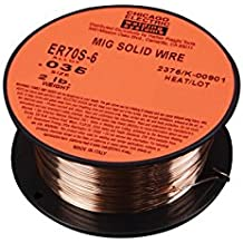 0.035 in. ER70S-6 MIG Solid Welding Wire, 2 lb. Roll New 90 Day Warranty