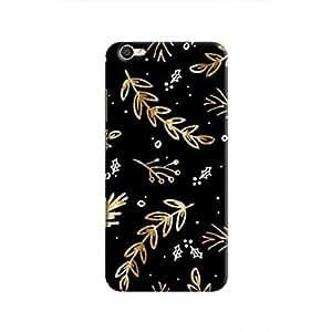 Cover It Up - Gold Holly Sprig V5 Hard case
