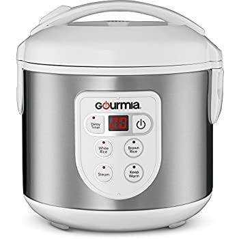 Amazon.com: Gourmia GRC670 8 Cup (Cooked) Rice Cooker and