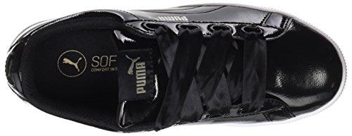 Platform puma Black Zapatillas Black Puma para Vikky Mujer Ribbon P Negro Puma OAxfw5vBq