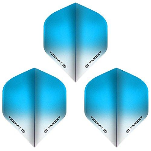 (ダーツ フライト) TARGET(ターゲット) VISION フライト(ビジョンフライト) スタンダード グラデーション ライトブルー <331820>の商品画像