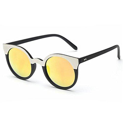 G.T.D European and American Fashion Star Sunglasses Black Female Cat's Eye sunglasses Small Chili Solar Eyewear(C8) (Chilis Sunglasses compare prices)