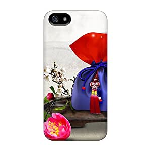 High Quality WalkingStreet Gift Bags Skin Case Cover Specially Designed For Iphone - 5/5s