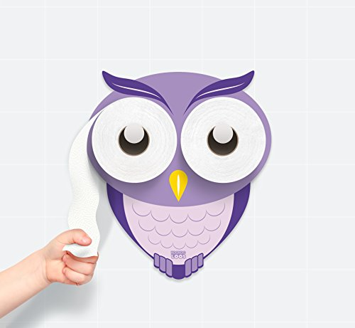 KooKooHoot - Toilet Paper Holder - Bath Time Decoration - Potty Training - ()