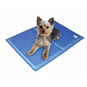 Chillz Cooling Mat For Dogs - Pressure Activated Gel Dog Cooling Mat - No Need to Freeze Or Refrigerate This Cool Pet Pad - Keep Your Pet Cool, Use Indoors, Outdoors or in the Car 25