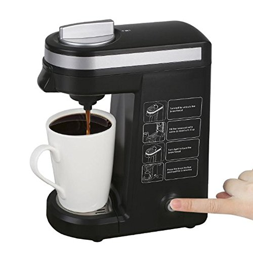 K-cup Coffee Maker, Single K Cups Coffeemaker Machine, Black